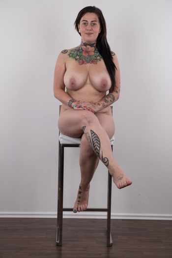 Preview Czech Casting - The busty amateur Nikola has already fucked more than a hundred men! This tattooed husky girl likes it rough and hard. Sex, money, tattoos, that's her philosophy. She came to our villa with a plan: to get laid and to get paid. Wait for her to reveal her natural tits...